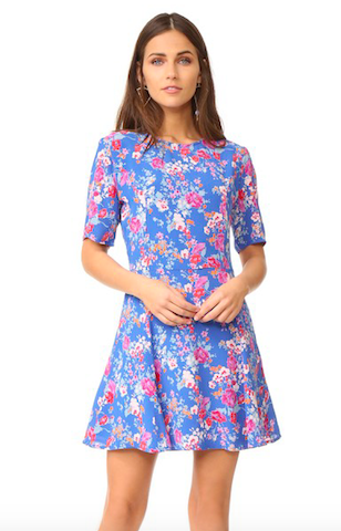 tularosa floral dress