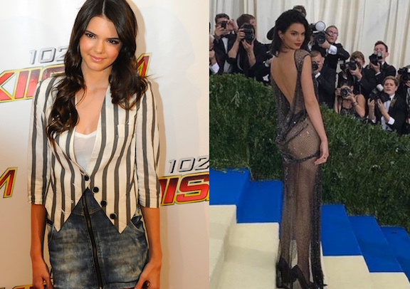 kendall jenner changing looks