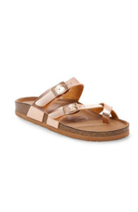 target women's mad love prudence footbed sandals