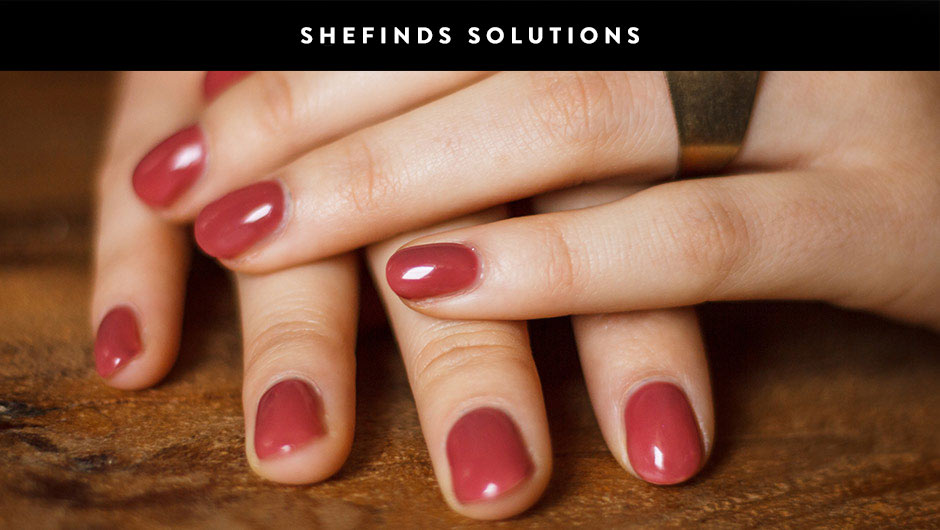 How to make your manicure chip proof shefindssolutions solutioingenieria Image collections