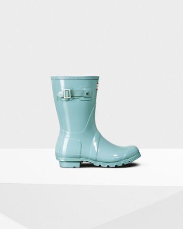 original hunter short gloss boots