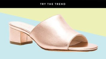 Rose Gold Shoes Will Make Any Outfit Instantly Prettier--Get A Pair Now!