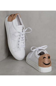 anthropologie lola cruz smile sneakers