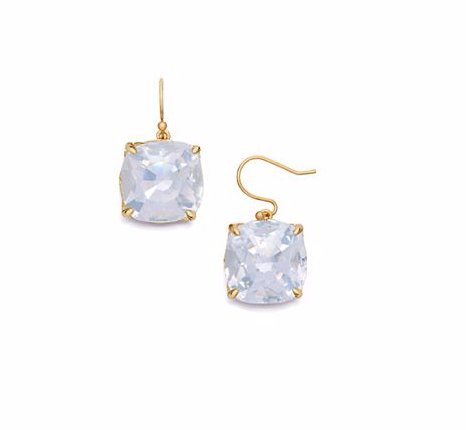 tory burch crystal drop earring