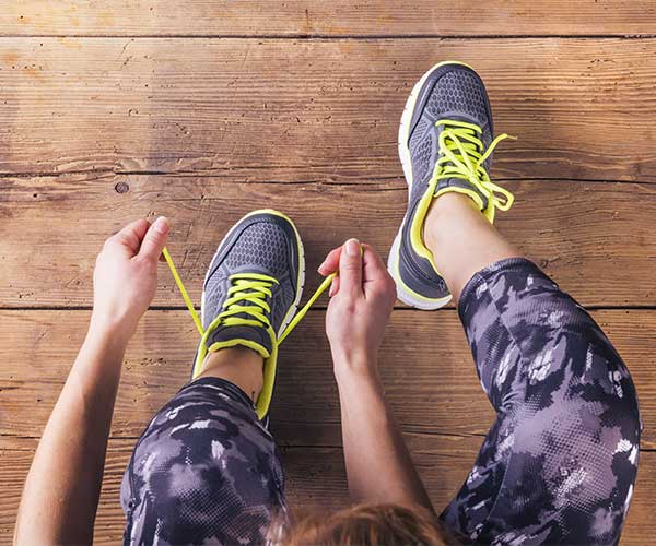 workout sneakers