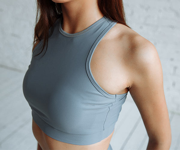 sports bra working out