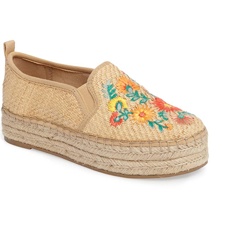 Sam Edelman Carrin Embroidered Sneaker