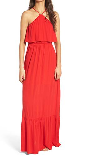 Popover Maxi Dress