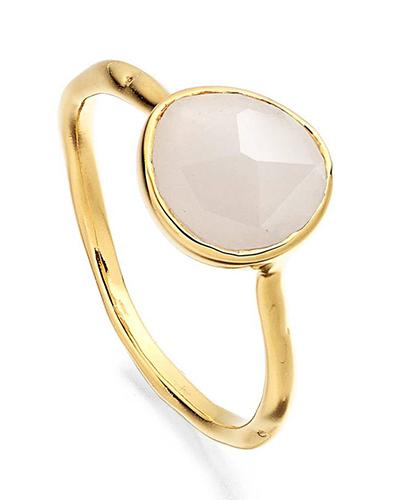 Siren Semiprecious Stone Stacking Ring