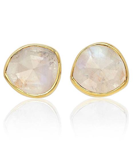 'Siren' Semiprecious Stone Stud Earrings