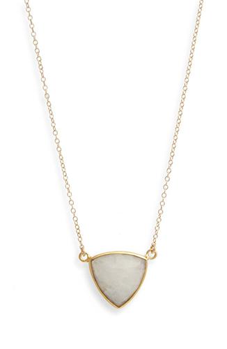 Trillium Pendant Necklace