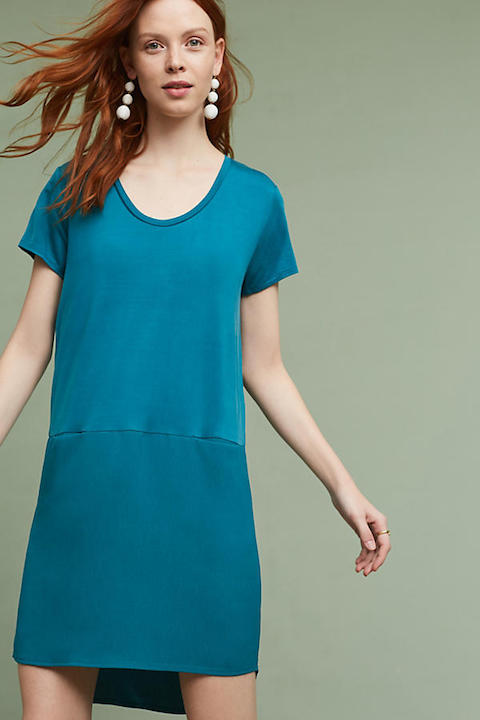 anthro tunic dress