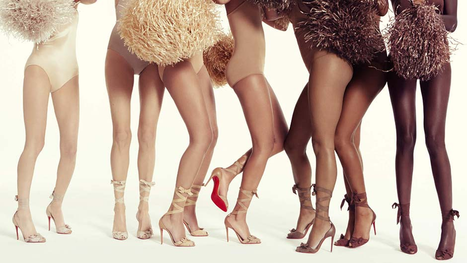 51687442f74 Christian Louboutin's New Skin-Tone Sandals Are So Important - SHEfinds