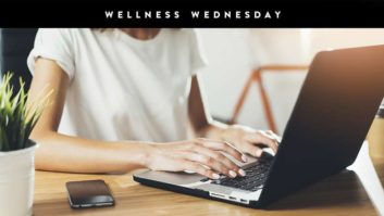 3 Super Easy Workouts You Can Do Right At Your Desk #WellnessWednesday