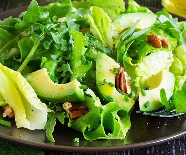 avocado detox salad