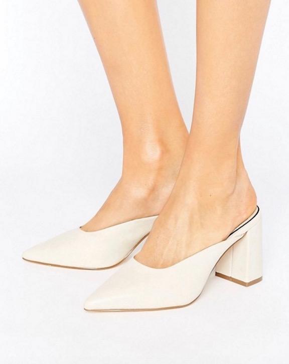 heeled mules