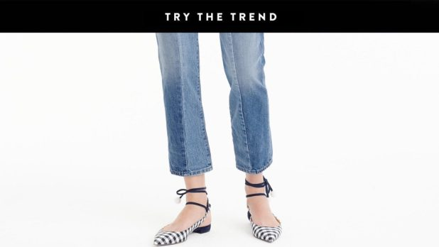 Gingham Print Shoes Are The Easiest Way To Dress Up Jeans This Summer--Get A Cool Pair ASAP