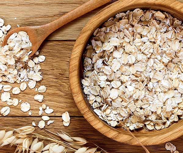 oats flat stomach