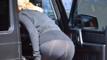 Did These Celebs Really Not Realize Their Leggings Were Completely See-Thru?