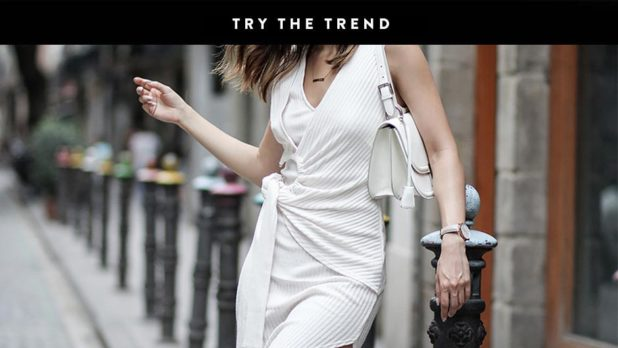 Forget Off-The-Shoulder--Knot Front Dresses Are The Must-Have Silhouette For Summer