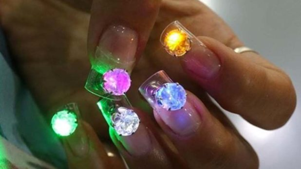 LED Nails Are A Thing, And IDK How To Feel About It