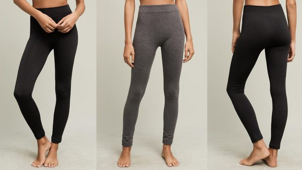 Buy These $6 Fleece-Lined Leggings Now And Come Winter, You'll Be <em>So</em> Glad You Stocked Up