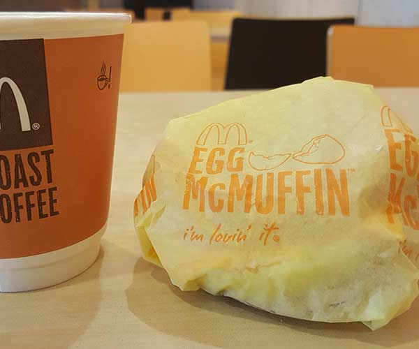egg mcmuffin for weight loss