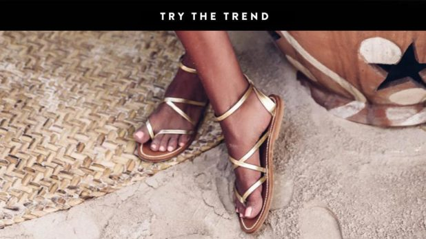 Shop Summer's Prettiest Metallic Sandals Starting At Just $19.99