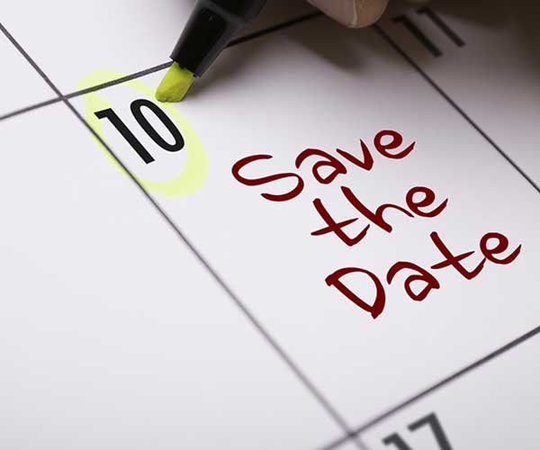 save the date mistakes