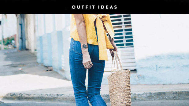 Put Your Straw Bags To Good Use With These Pretty Summer Outfit Ideas