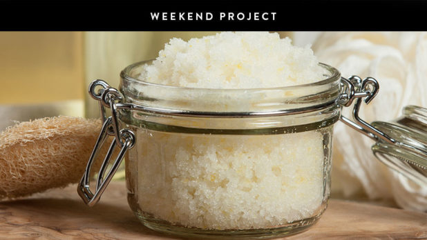 Weekend Project: Make Your Own Exfoliating Coconut Sugar Skin Scrub