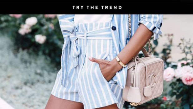 Want To Fake A Slimmer Waist? Throw On A Pair Of Tie Waist Shorts