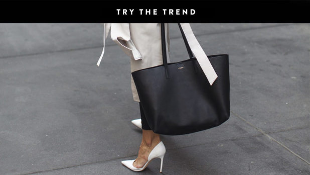 Say Hello To Your New Everyday Bag--The Simple, Spacious Tote