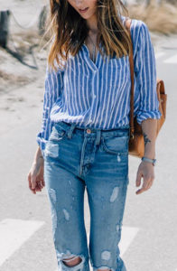 styling clothes tucked shirt