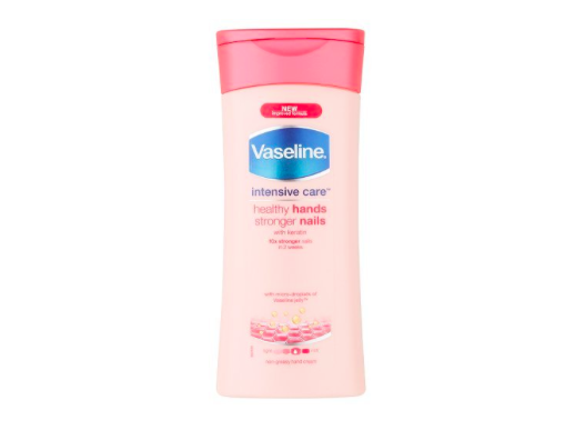 vaseline healthy hand and stronger nails hand cream