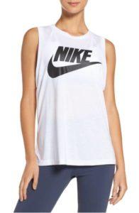 nordstrom nike sportswear essential muscle tank