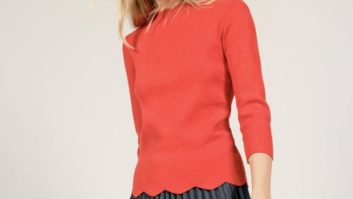 Hurry! You Need To Buy This Pretty Scalloped Sweater Before Nordstrom's Anniversary Sale Ends Tonight
