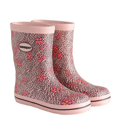 Galochas Kids Prints Rain Boot Crystal Rose