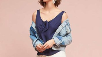 Psst! These $13 Tops Are Selling Out Super Fast At Anthropologie's Huge Sale On Sale