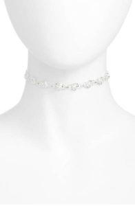 rose station choker necklace