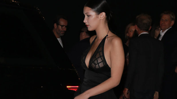 Did Bella Hadid Really Not Realize That Her Outfit Was Completely See-Thru?