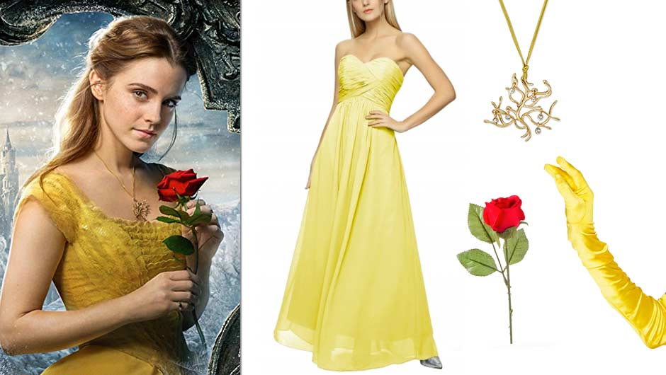 Hereu0027s Everything You Need To DIY A Belle Costume From Beauty and the Beast  sc 1 st  SHEfinds : belle gown costume  - Germanpascual.Com