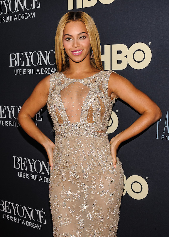 beyonce see thru outfit