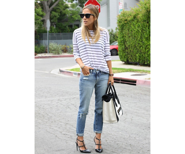 Once And For All, Here's How To Wear Boyfriend Jeans If You