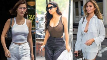 7 Times Celebs With Big Boobs Didn't Feel Like Wearing Bras & Were Still Total #FashionGoals