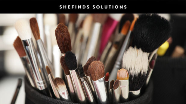 Once And For All, This Is How To Enure Your Makeup Brushes Are Clean & Germ Free #SHEfindsSolutions