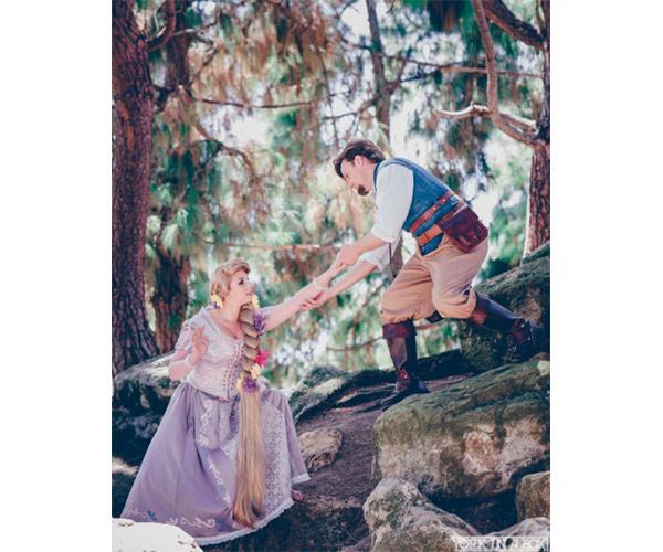 flynn rider and rapunzel costume