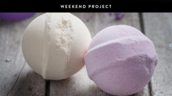 Weekend Project: Make Your Own Bath Bomb