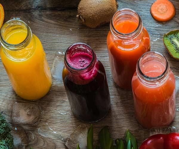 orange juice for healthy hair
