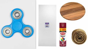 How To DIY A Fidget Spinner Costume So That You'll Be The Coolest Person At Every Halloween Party